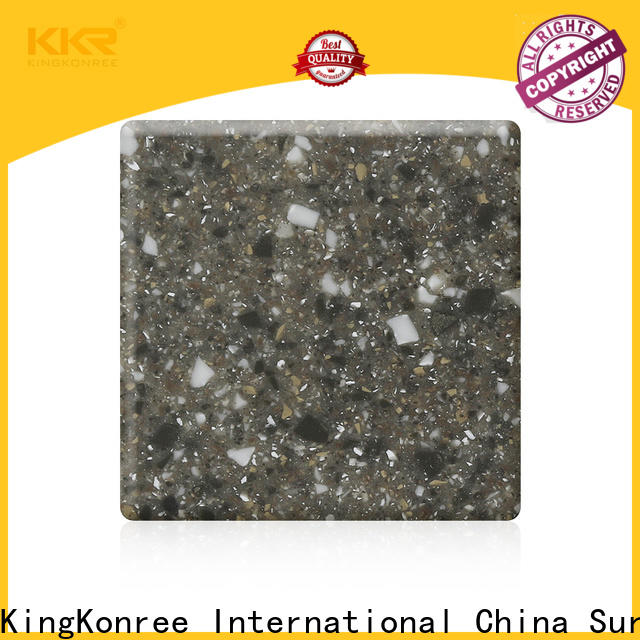 KingKonree solid surface sheets for sale supplier for room