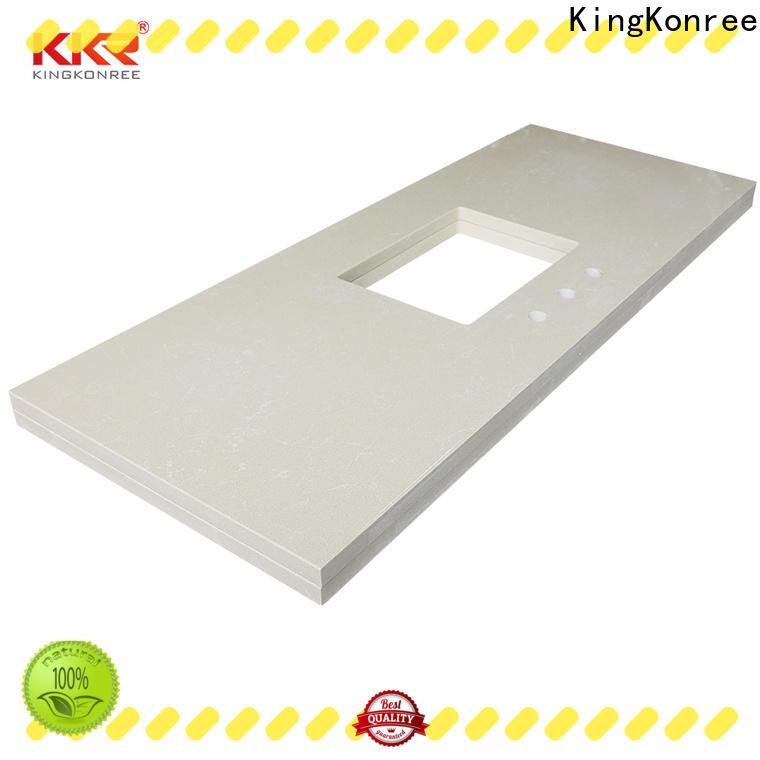 KingKonree kitchen solid surface bathroom countertops latest design for bathroom