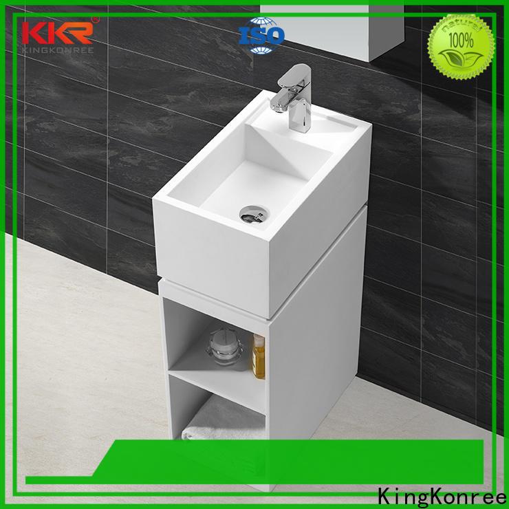 KingKonree solid surface wash basin supplier for hotel