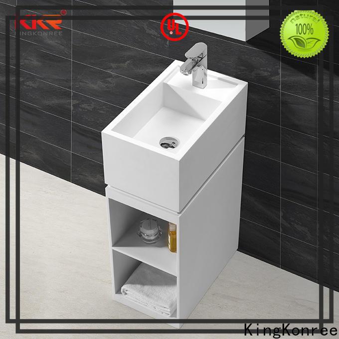 KingKonree freestanding bathroom basin design for bathroom
