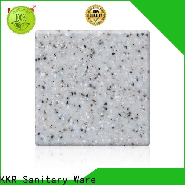 KingKonree quality acrylic solid surface sheets manufacturer for hotel