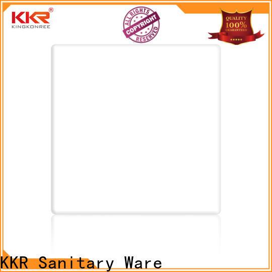 KingKonree acrylic surface factory price for hotel