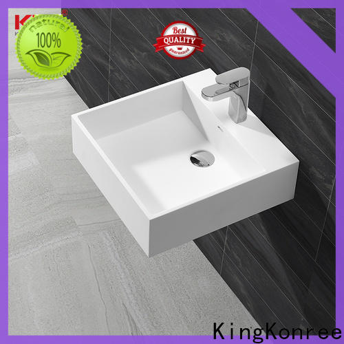 wall hung wall mounted wash basins supplier for toilet