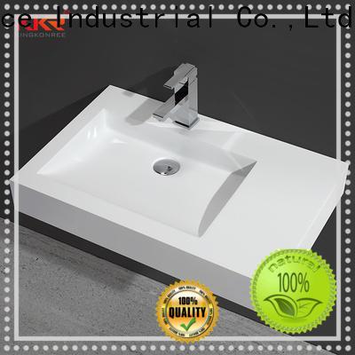KingKonree small wall hung basin customized for bathroom