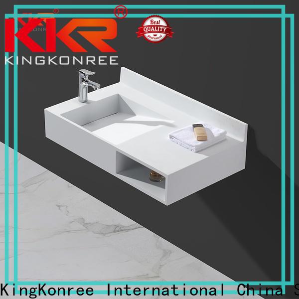 KingKonree wall mounted wash basin manufacturer for bathroom