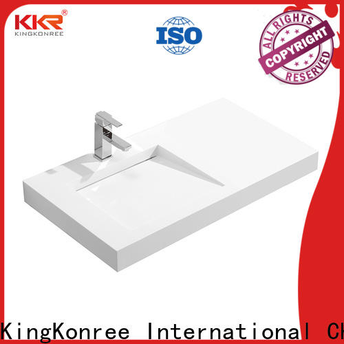 vanity wall mounted wash basins customized for home