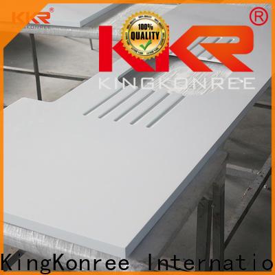 KingKonree acrylic solid surface kitchen worktops manufacturer for hotel