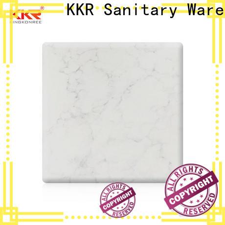 KingKonree durable solid surface sheets supplier for room