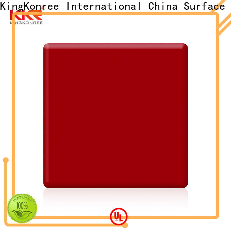 KingKonree types of solid surface countertops manufacturer for home
