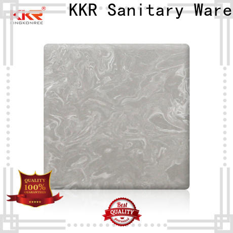 KingKonree quality acrylic solid surface directly sale for hotel