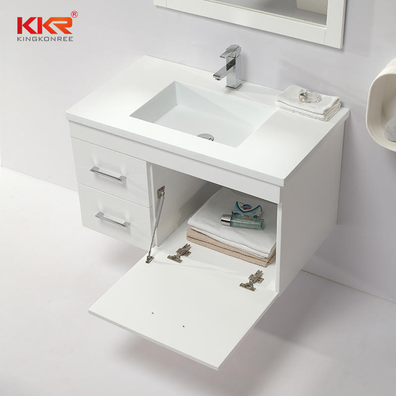 Size Customized Wooden Bathroom Vanity Basin Cabinet KKR-702CH