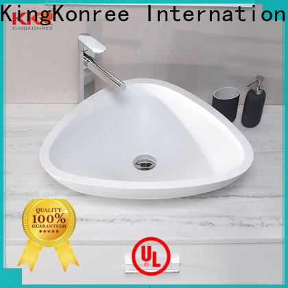 approved above counter sink bowl customized for restaurant