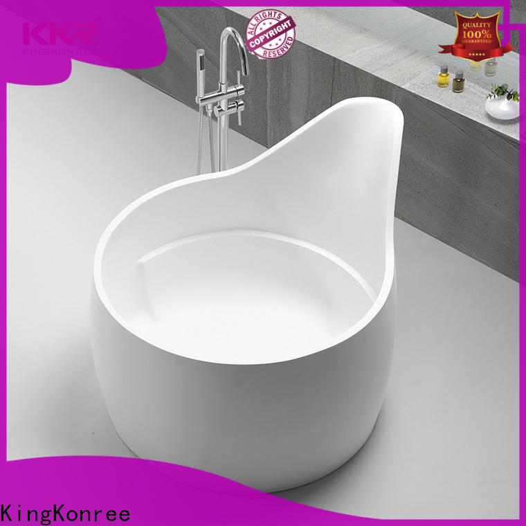 KingKonree high-quality freestanding bath tub free design for hotel
