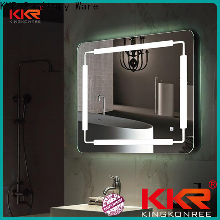 KingKonree wall mounted mirror high-end for bathroom