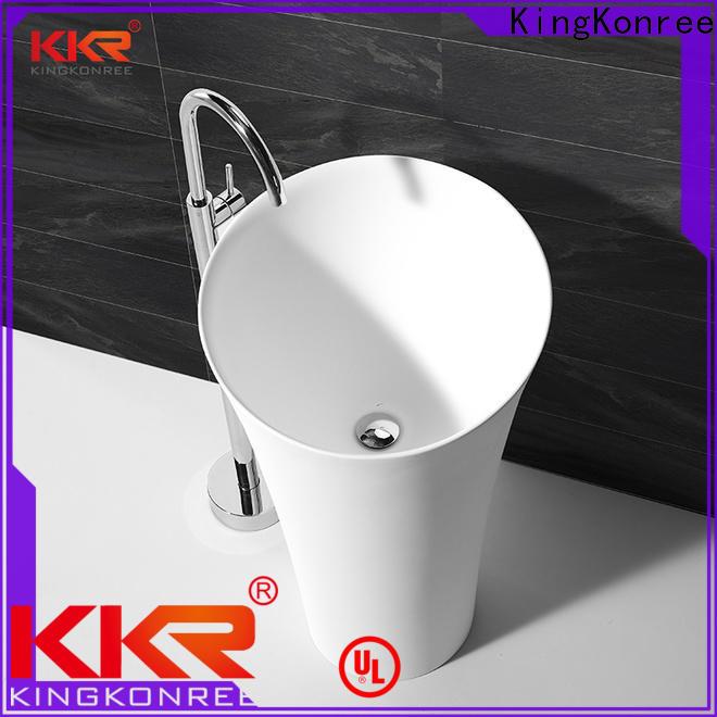 KingKonree solid surface basin on-sale
