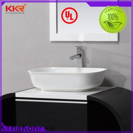 KingKonree elegant vanity wash basin manufacturer for hotel