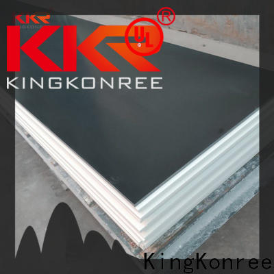 KingKonree 12mm solid surface sheets factory price for room