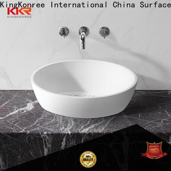 highend stone vanity customized for family