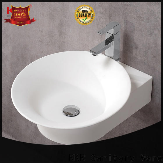 hung solid surface basin top-brand