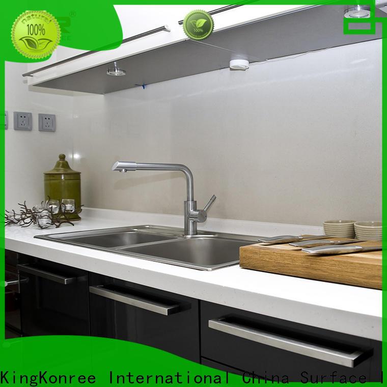 KingKonree solid worktops supplier for restaurant