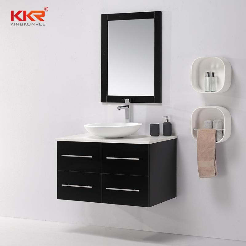 Royal Design Wall Mounted Bathroom Vanity Cabinet KKR-708CH