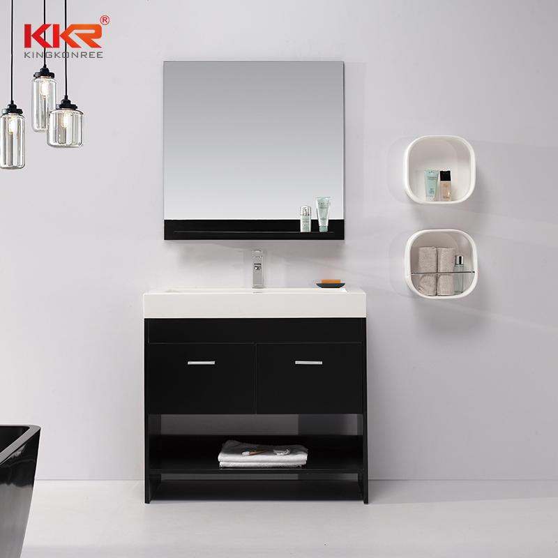 European Style Hotsale Customized Design Countertop Vanity Bathroom Cabinet KKR-710CH