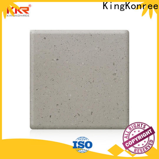 thermoforming solid surface sheets factory price for restaurant