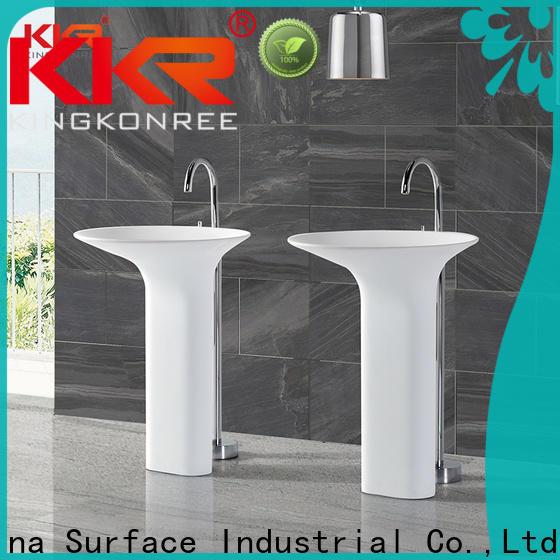 KingKonree floor standing basin supplier for home