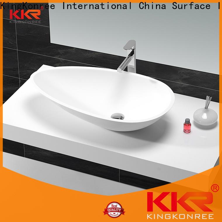 pure small countertop basin supplier for restaurant