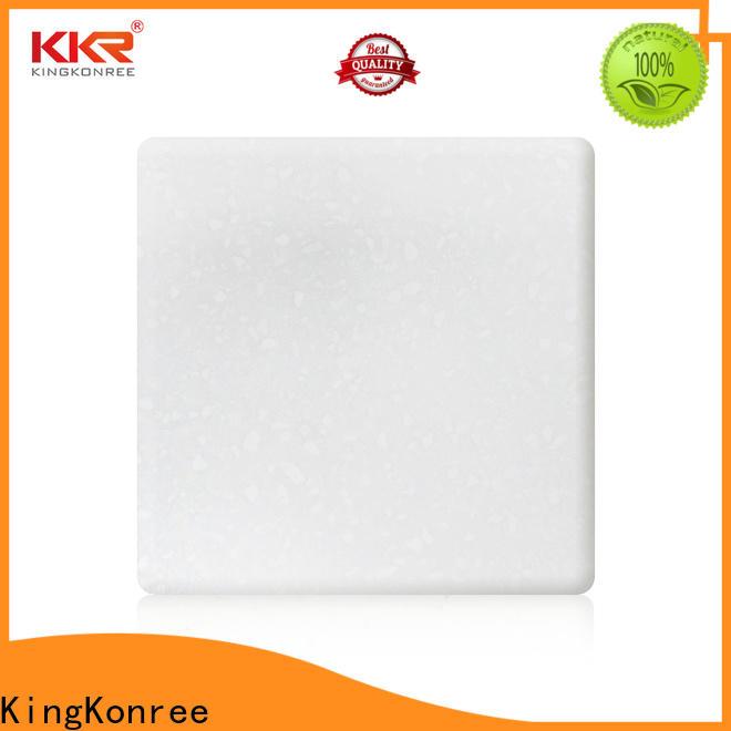 KingKonree big solid surface sheets design for home