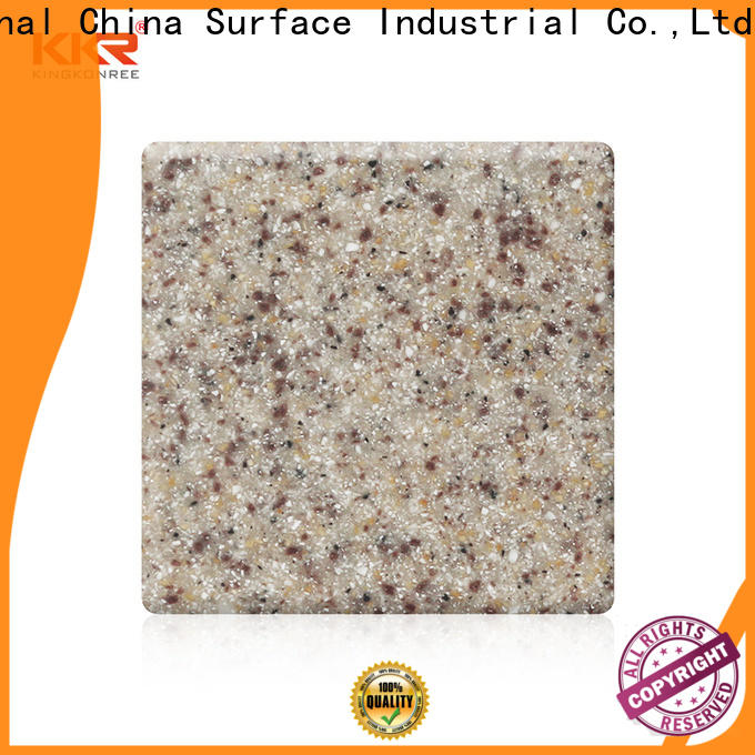 KingKonree best solid surface countertops customized for hotel