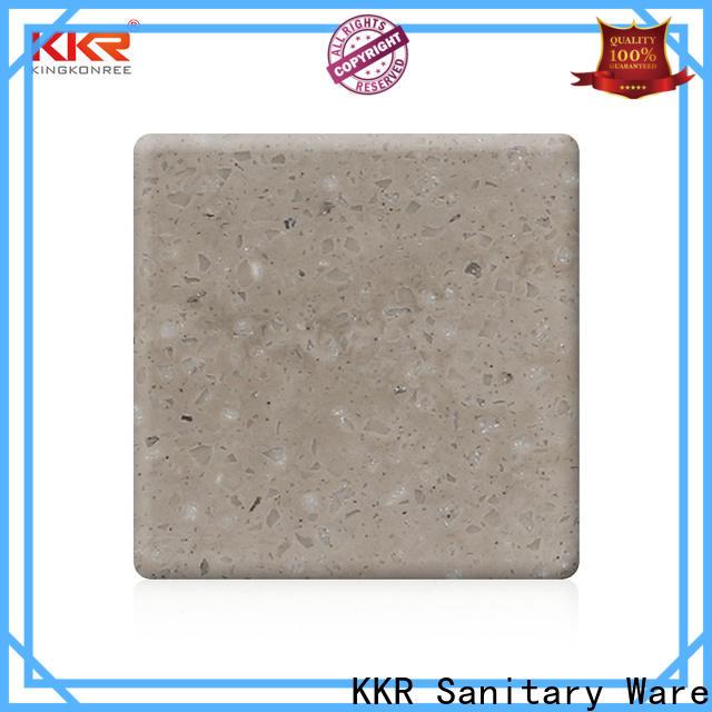 KingKonree popular acrylic solid surface series for indoors