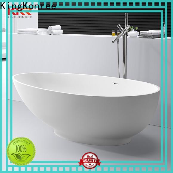 white corner tub custom for shower room
