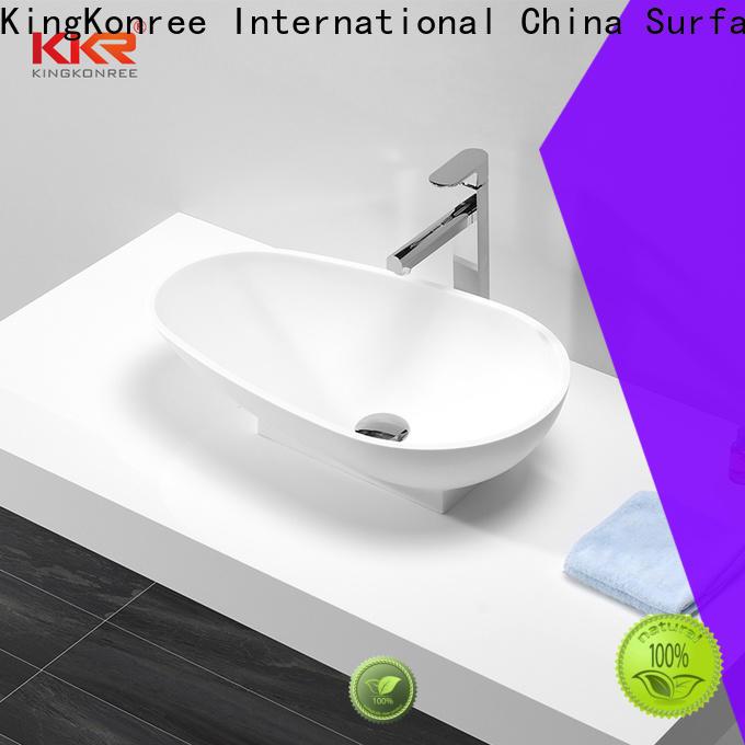KingKonree pure table top wash basin design for room