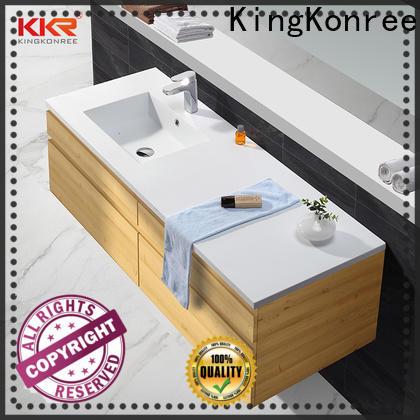 KingKonree elegant basin cupboards small bathrooms supplier for hotel