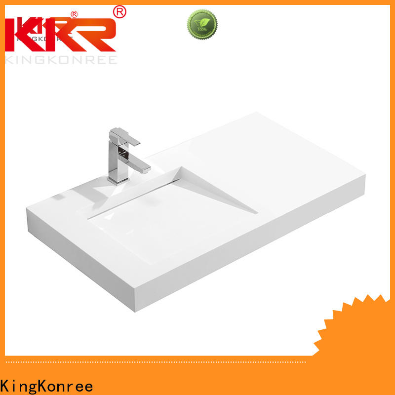newly wall hung basin 600mm manufacturer for bathroom