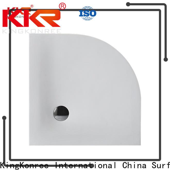 KingKonree large shower pans customized for hotel