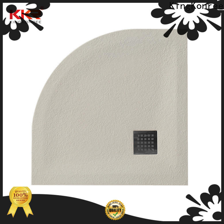 solid 1200 x 900 shower tray customized for bathroom
