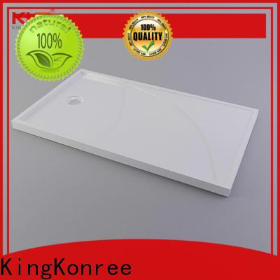 KingKonree white narrow shower tray at -discount for bathroom