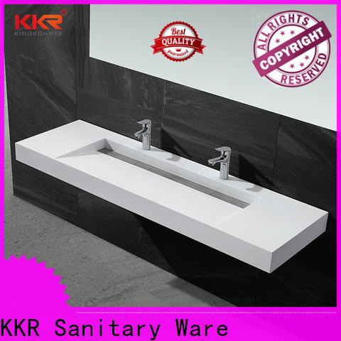 KingKonree small wall hung basin customized for toilet