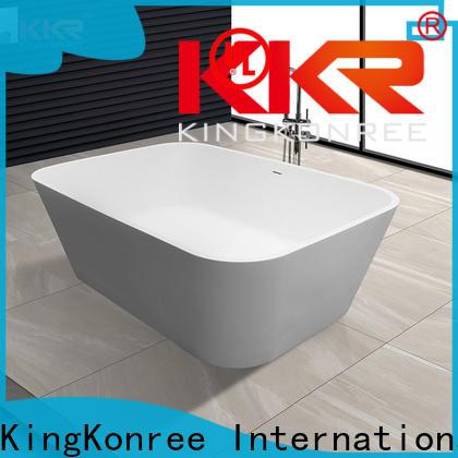 KingKonree corner tub ODM for bathroom