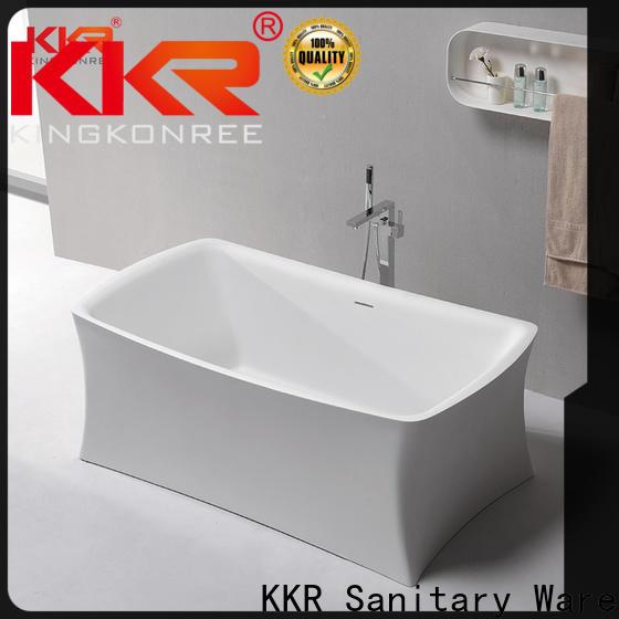 KingKonree hot-sale rectangular freestanding tub at discount for family decoration