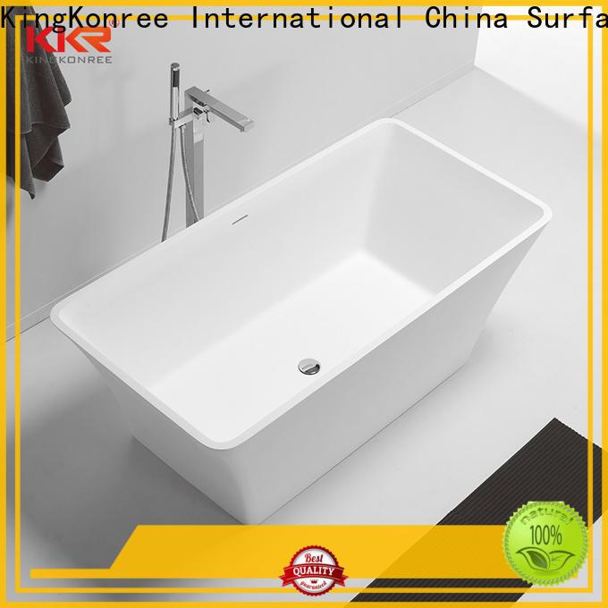 reliable rectangular freestanding bathtub kkrb048 OEM for family decoration