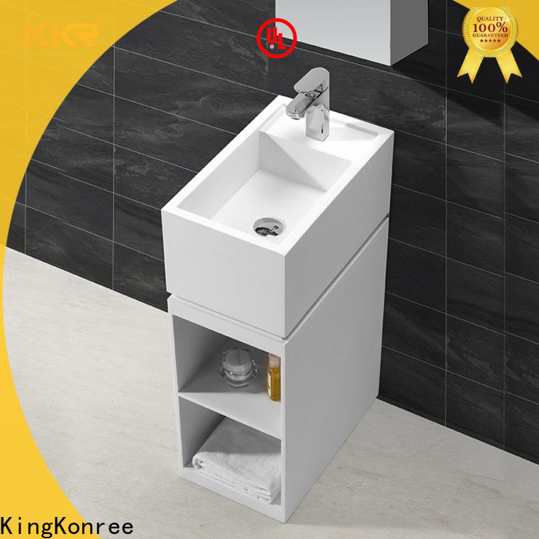 KingKonree rectangle basin stands for bathrooms supplier for home