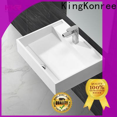 wallhung slim wall hung basin sink for home