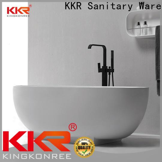 KingKonree contemporary freestanding bath manufacturer for shower room