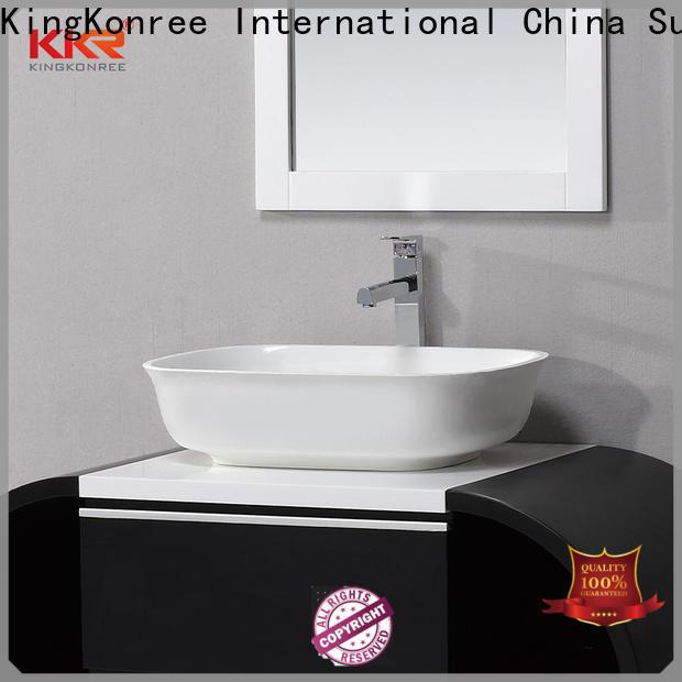 KingKonree above counter vessel sink manufacturer for room