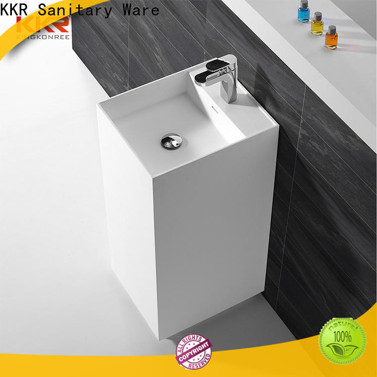 coat freestanding basin supplier for bathroom
