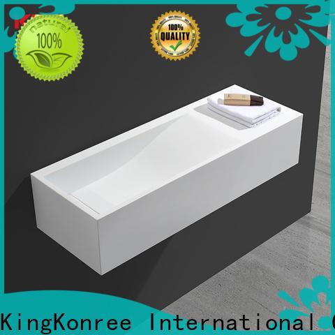 washing wall mount bath sink manufacturer for bathroom