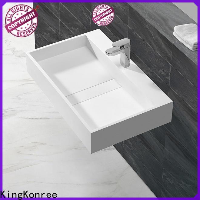 KingKonree small countertop basin on-sale for hotel